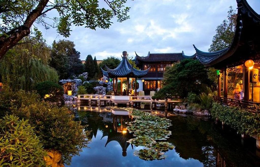 兰苏中国花园旅游景点图片