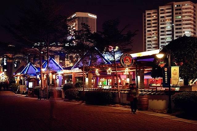 蛇口海上世界酒吧街