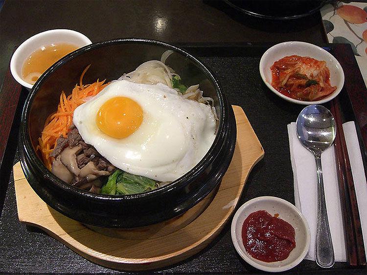 韩国早餐图片