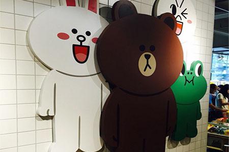 韓國line布朗熊壁紙