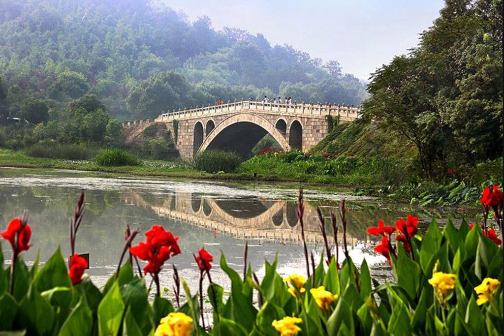 武汉市马鞍山森林公园旅游景点图片