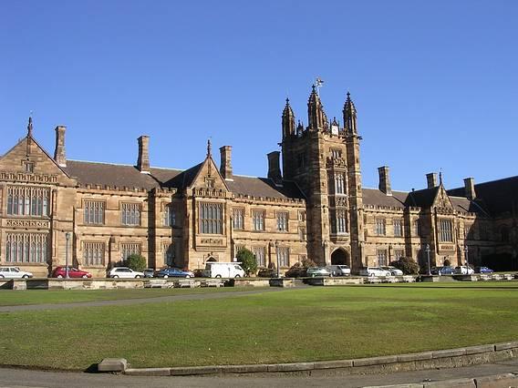 悉尼顶尖大学的特色风景线