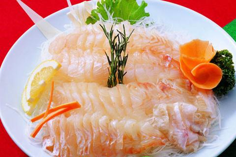 春川淡水鱼生鱼片