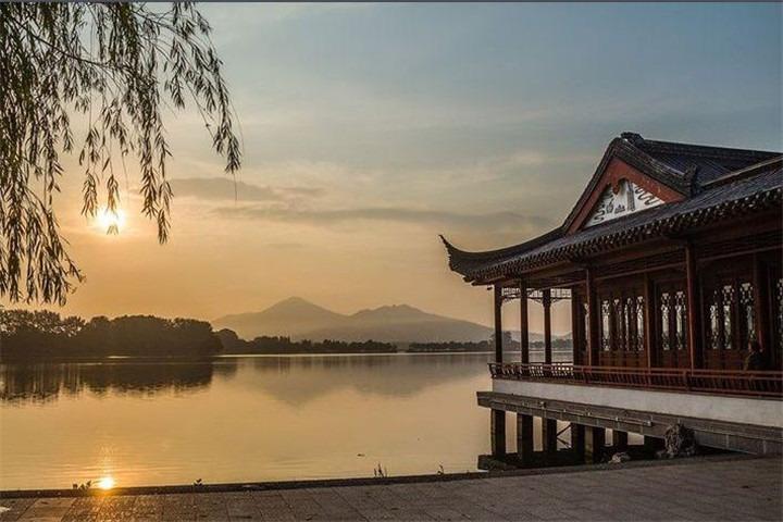 南京风景矢量图