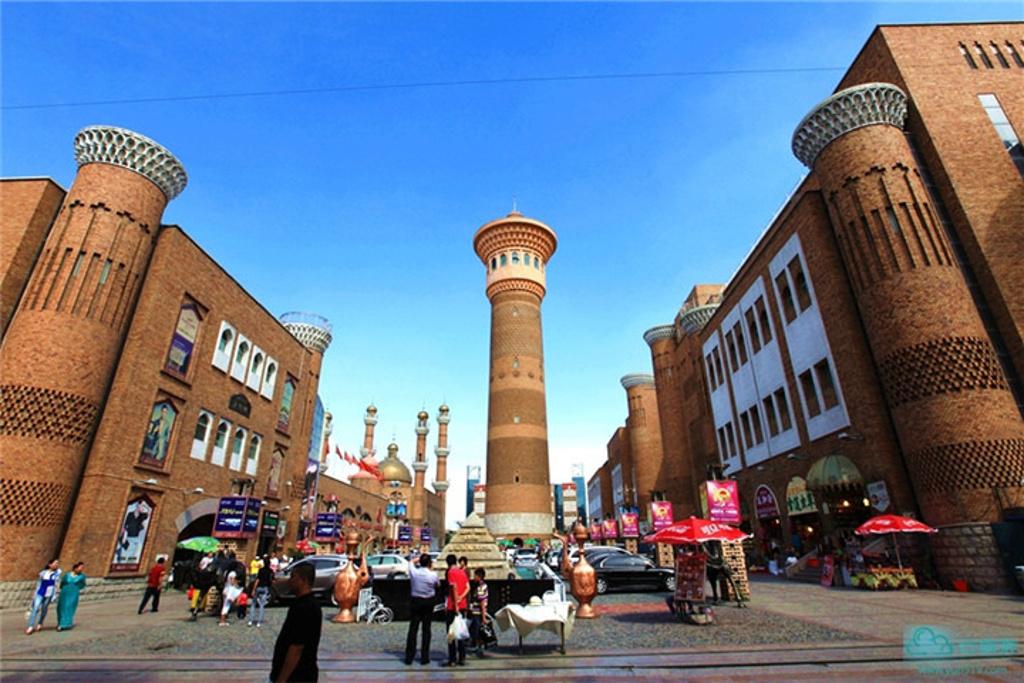 新疆国际大巴扎旅游商业步行街