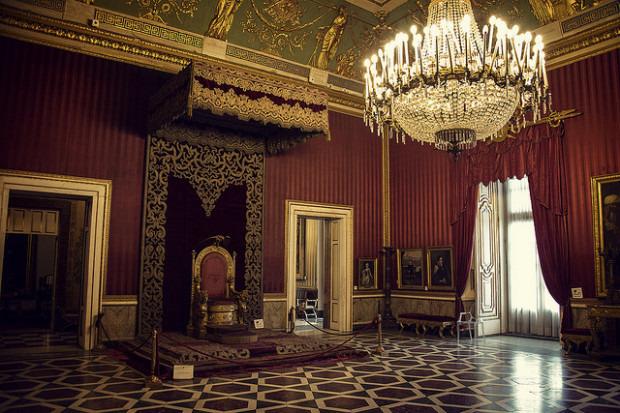 皇宫房顶手绘图