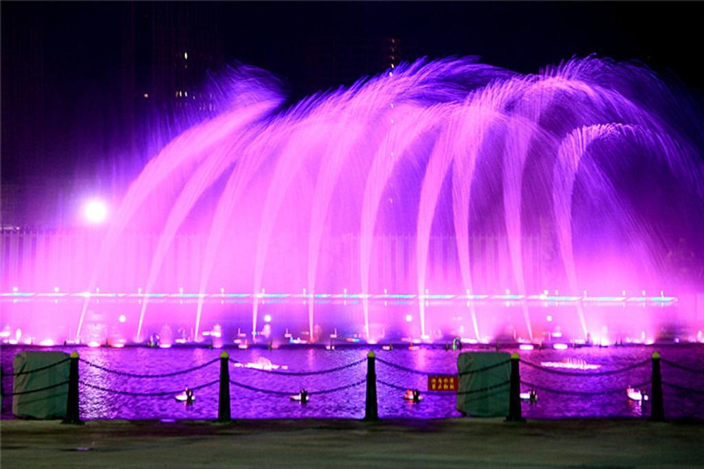 康巴什喷泉