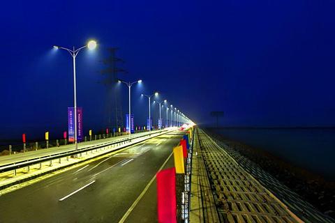 壁纸 大桥 道路 高速 高速公路 公路 桥 桥梁 夜景 桌面 480_320