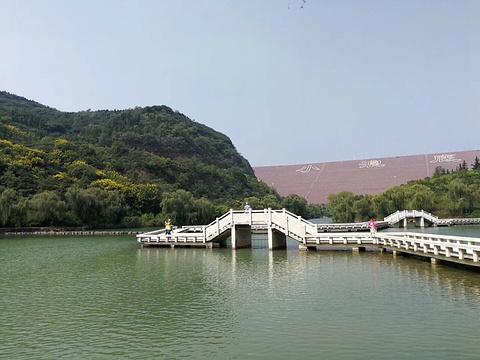 洛阳黄河小浪底水利枢纽风景区旅游景点图片图片