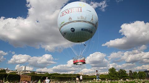 曼特农城堡热气球之旅