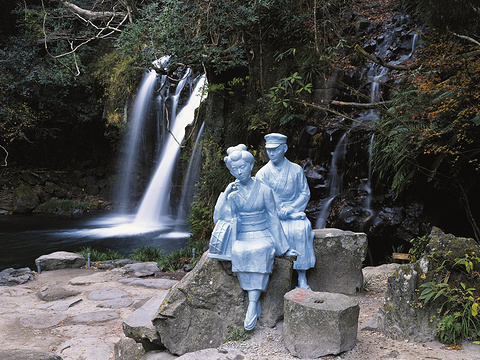 河津七攻略旅游景点图片神龙峡自驾游瀑布图片