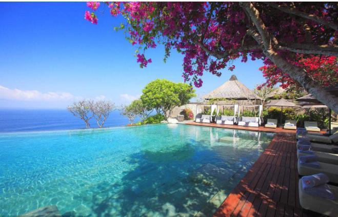 選擇最佳時間觀賞最美風景~~  巴厘島位于赤道以南,一年四季都可以