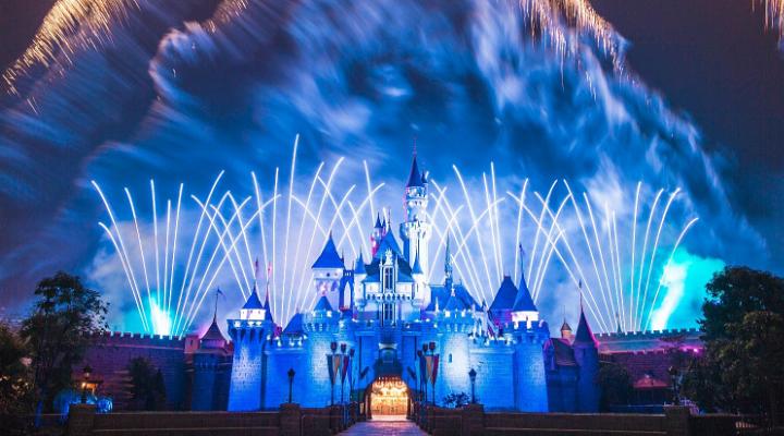 迪士尼乐园旅游图片