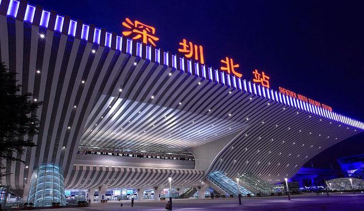 一站我要说的是高铁站-深圳北站,其实每次来这个高铁站都是有点小激动图片