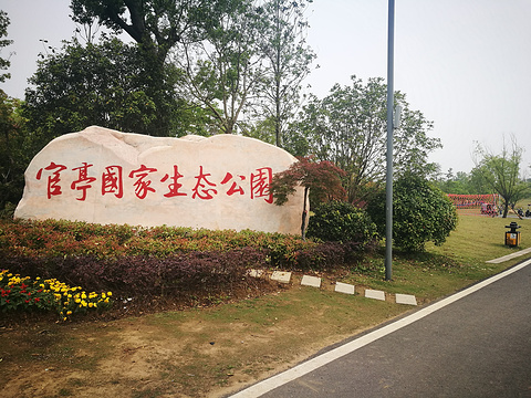 肥西官亭万亩生态园旅游景点图片