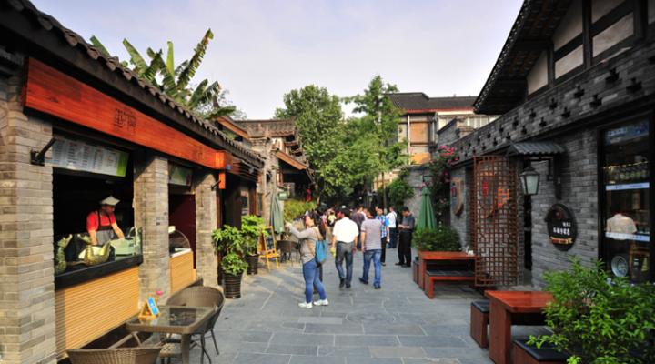 宽窄巷子旅游图片