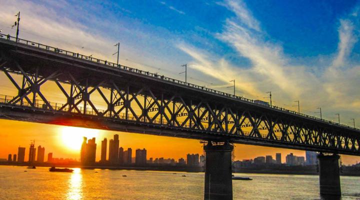 武汉长江大桥旅游图片