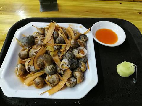 2019晚上在明翠炒螺店吃饭,据美食越南人在这总府路哪些说是有图片