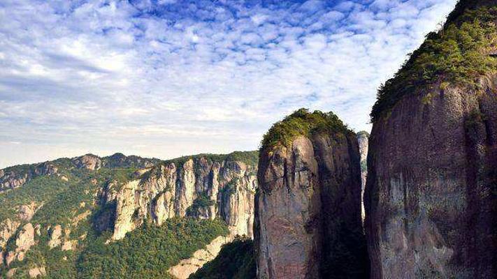 宁波市宁海县天河生态风景区浙东大峡谷天姥峰游览区