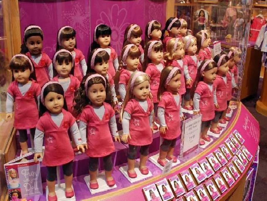 美国女孩娃娃店