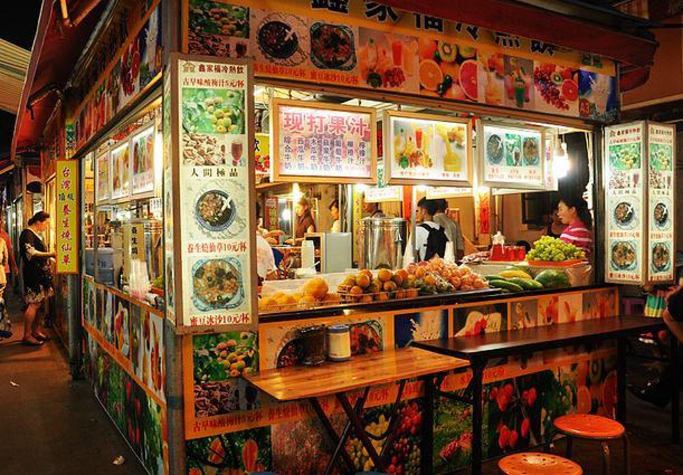 台湾特色小吃街