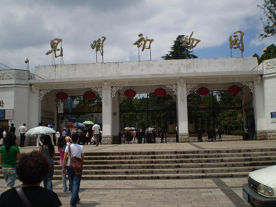 昆明动物园旅游景点图片