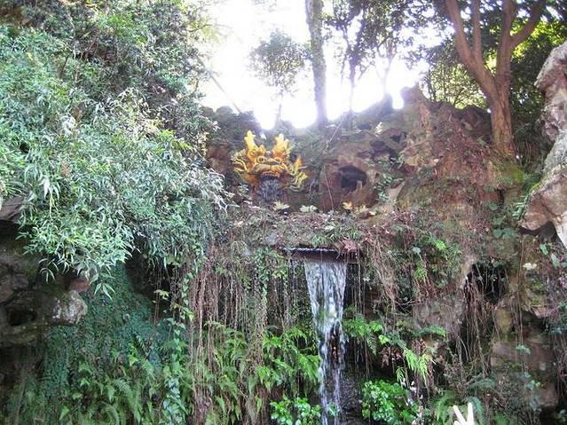 话剧表演欧式复古小花园