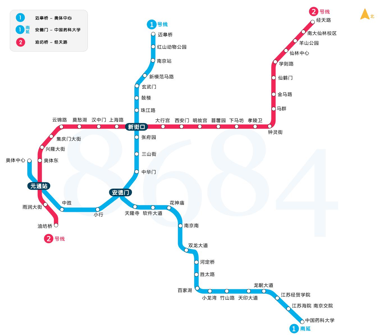 手绘旅游路线图