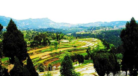 达州摄影 凤凰山下 ww 达县米城风景高清图片