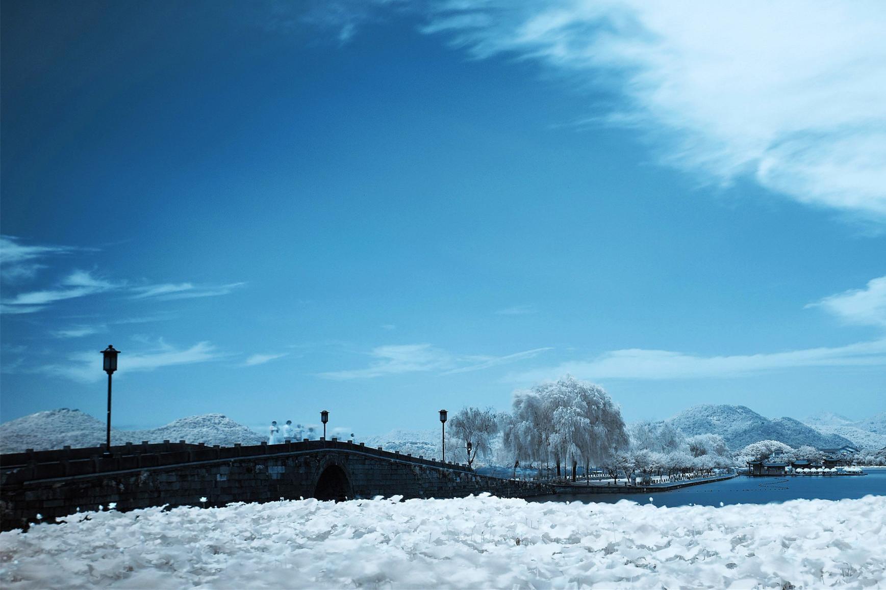 """""""许嵩一首断桥残雪,唱的内心对这美景,再也挥之不去."""
