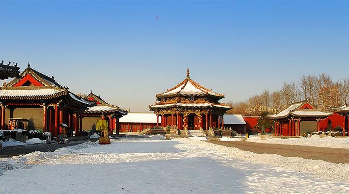 沈阳故宫旅游图片