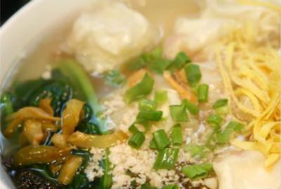 餐饮:长人馄饨,温州鱼丸