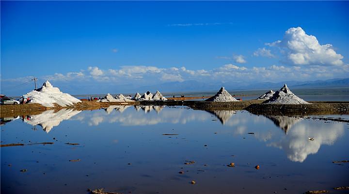 茶卡鹽湖旅游圖片