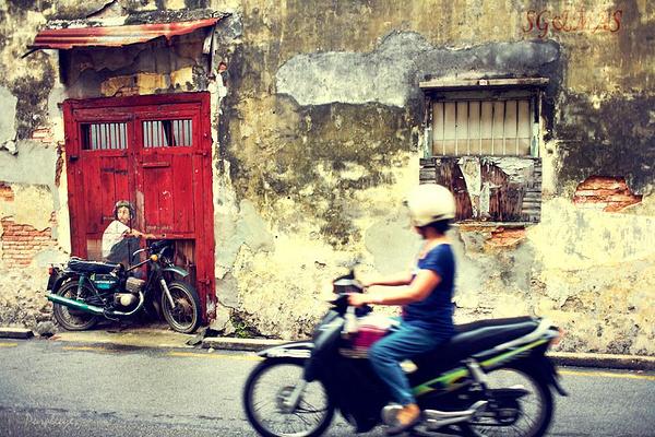 槟城壁画旅游图片