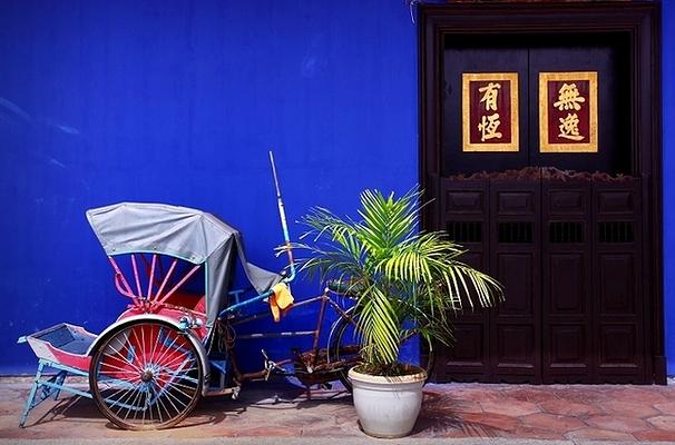 蓝房子旅游图片