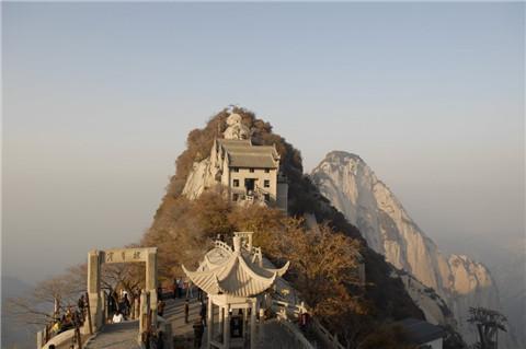 华山旅游线路图片