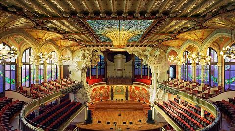 加泰罗尼亚音乐厅