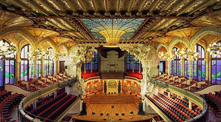 加泰罗尼亚音乐厅旅游图片