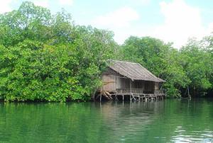 民丹岛的第一站安排在美丽的河谷.