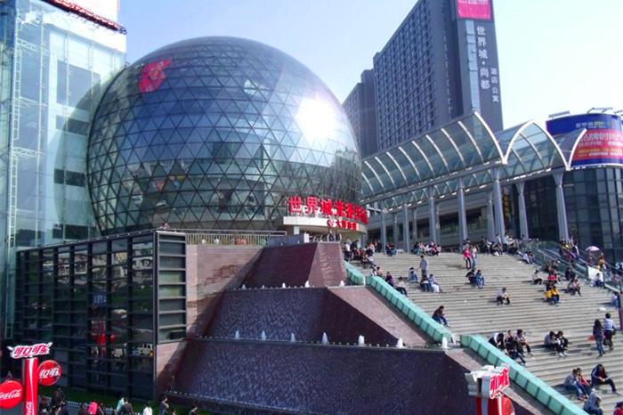 武昌光谷步行街大洋百货一楼有哪些品牌店图片