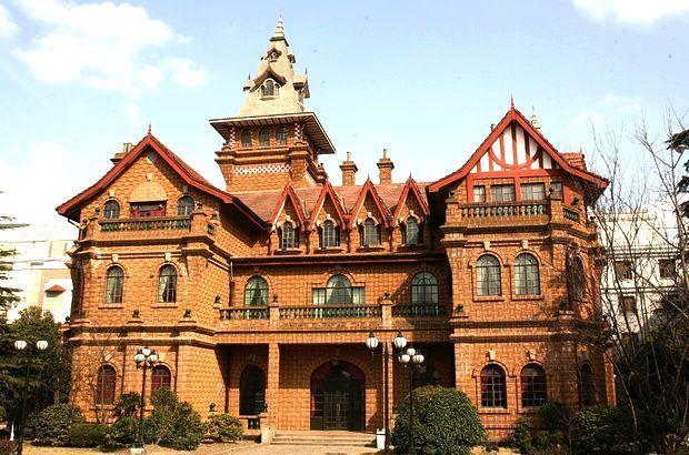 美国德州欧式城堡豪华别墅