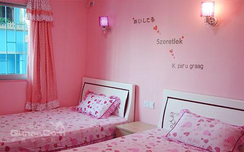 海洋彩绘卧室图片大全
