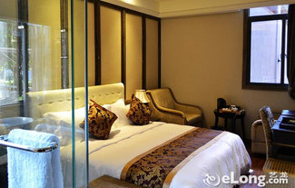 酒店内部装修豪华别致,场景式房间氛围 剧情化主题装饰,环境优