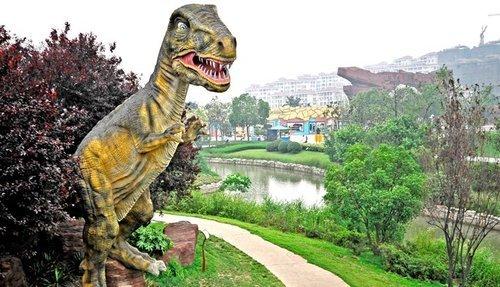 人价 有效期至2014年2月28日 常州中华恐龙园 恐龙谷温泉2日自由行