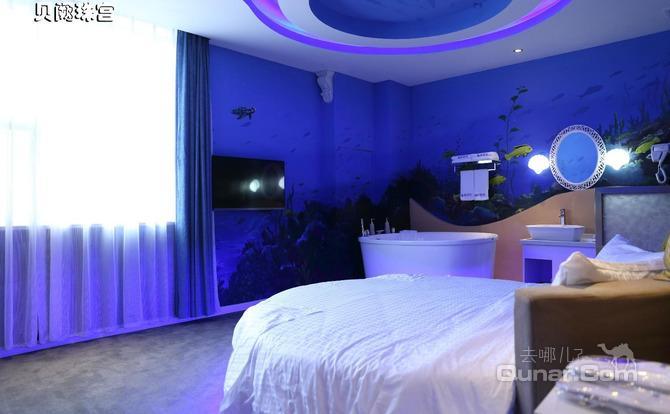 【黄岛海水浴场】青岛海岸都市主题酒店