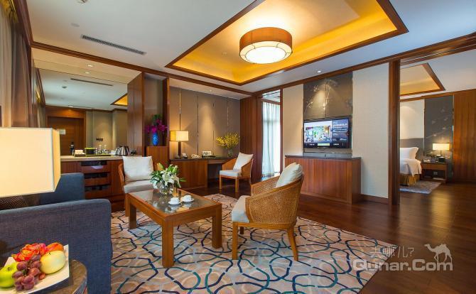 杭州千岛湖梅地亚君澜度假酒店豪华湖景大床房-杭州