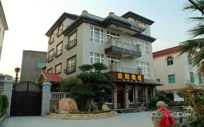 莆田湄洲岛泊澜咖啡会所是一栋田园风格海景别墅,是湄洲岛交通便利