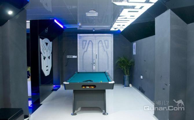 每一套主题风格的房间设计,都来自科幻大片的经典场景和元素,最大限
