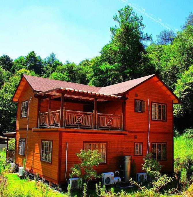 木屋别墅屋顶瓦片 轻钢别墅屋顶瓦片