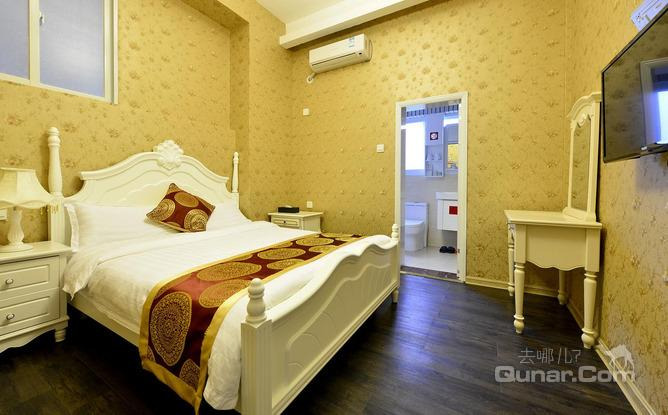 别墅装修卧室欧式潮